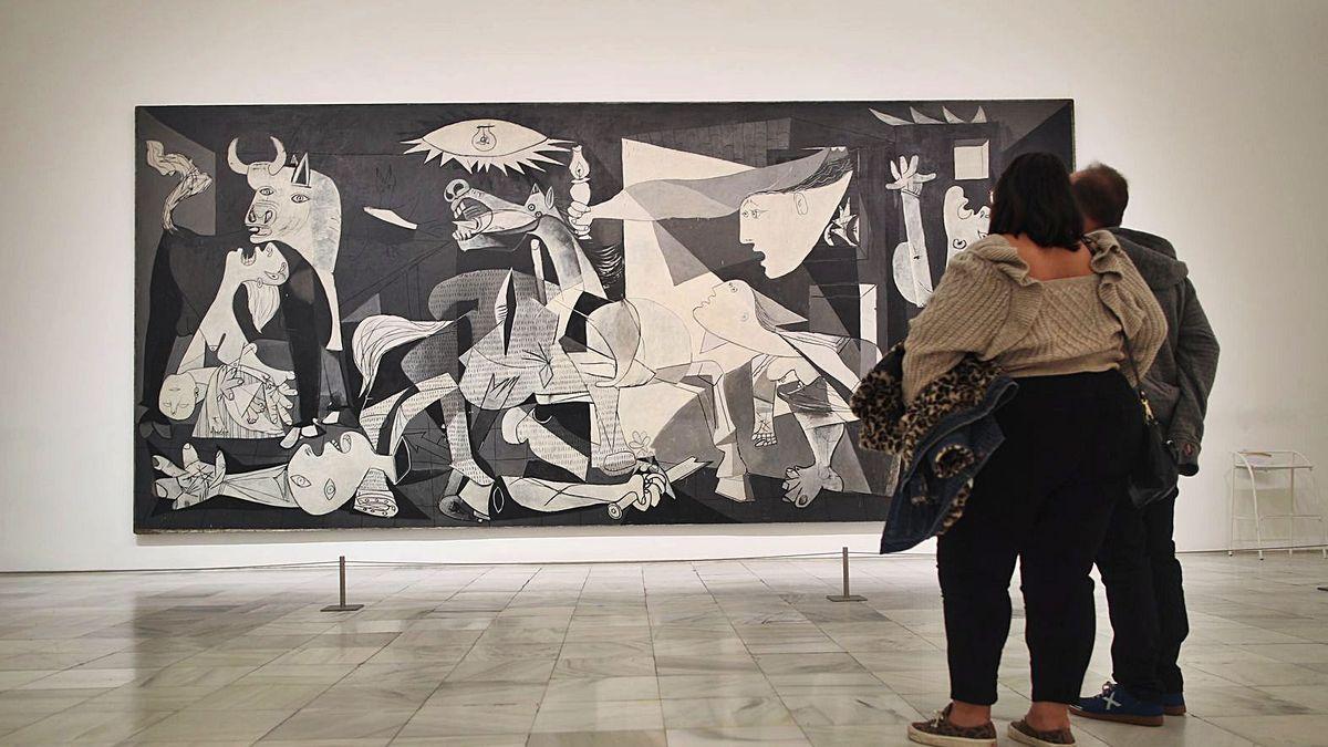 El <em>Guernica</em> de Picasso: cuatro décadas en casa
