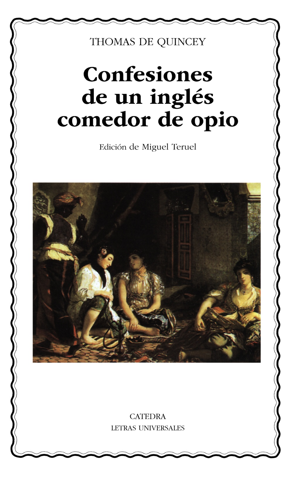 Resultado de imagen de confesiones de un inglés comedor de opio